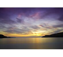 Serene Sunset at Farr Bay Photographic Print