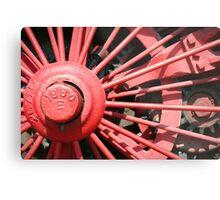 Wheel 1880 Metal Print
