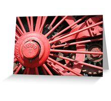 Wheel 1880 Greeting Card