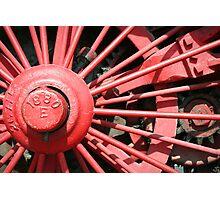 Wheel 1880 Photographic Print