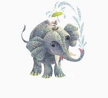 Splashing Elephant! Unisex T-Shirt