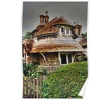 Circular Cottage, Blaise Hamlet...........! Poster