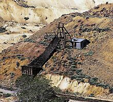 Head Frame & Ore Chute - Gold Hill, Storey County, NV by Rebel Kreklow