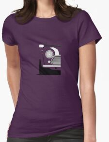 Classic Mini Front Womens Fitted T-Shirt