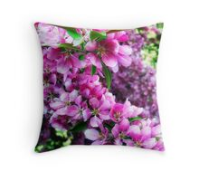 Cherry Blossoms 1 Throw Pillow