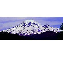 Mt. Rainier Panoramic in HDR Photographic Print