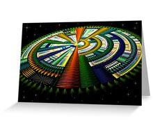 Julian Spaceship Greeting Card