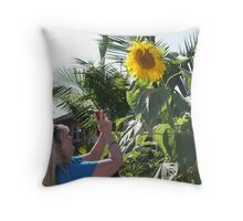 Sher Takes the Shot! Throw Pillow