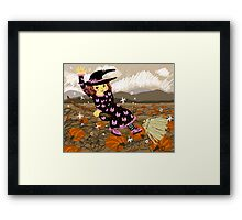 Happy Witch Framed Print
