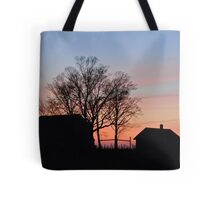 Small Town Sunset Tote Bag