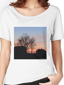 Small Town Sunset Women's Relaxed Fit T-Shirt