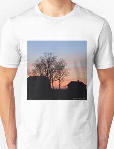 Small Town Sunset Unisex T-Shirt
