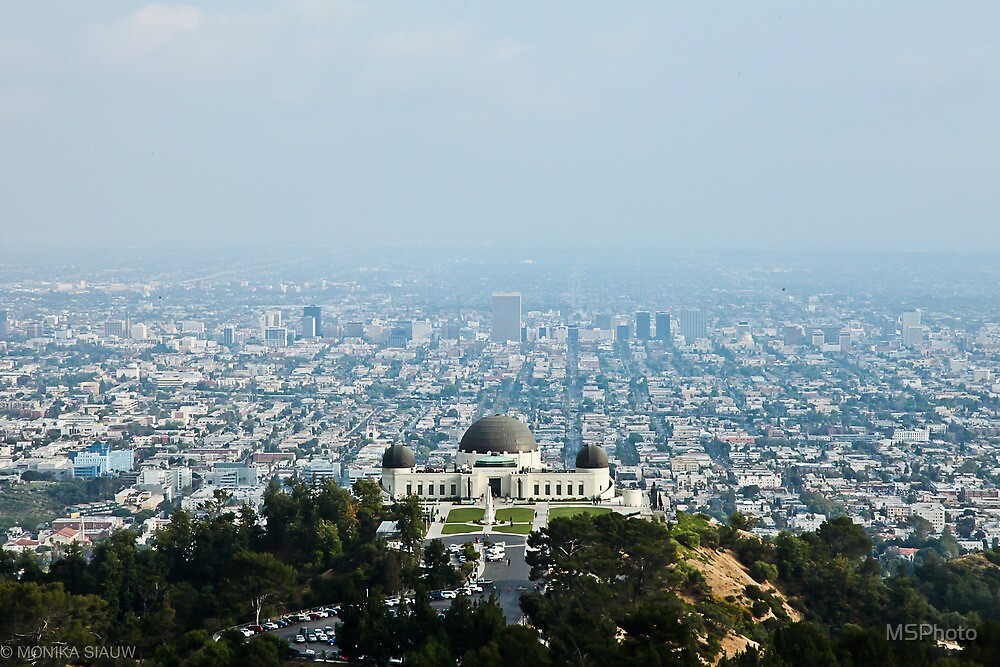 The Griffith Observatory by MSPhoto