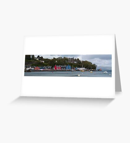 Colourful Tobermory Greeting Card
