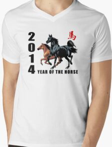 2014 Year of The Horse Mens V-Neck T-Shirt