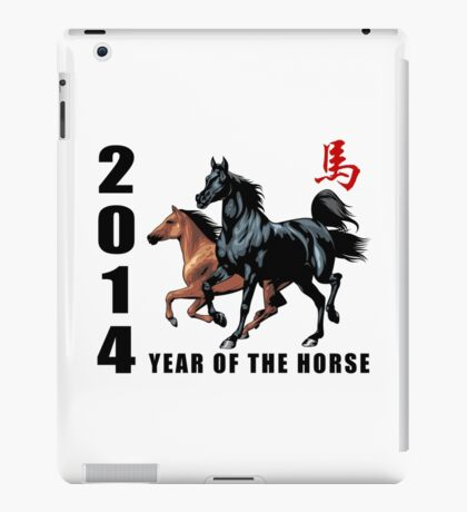 2014 Year of The Horse iPad Case/Skin