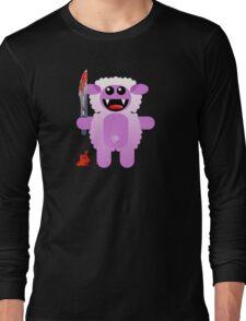SHEEP 2 (Cute pet with a sharp knife!) Long Sleeve T-Shirt