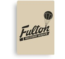 Fulton Recovery Service - Damaged Canvas Print