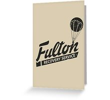 Fulton Recovery Service - Damaged Greeting Card