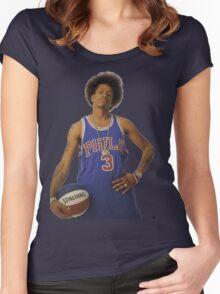 Allen Iverson Women's Fitted Scoop T-Shirt
