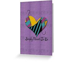Sally's Heart Greeting Card