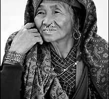 woman @ Nepal by nepalicat