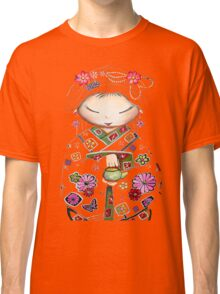 Little Green Teapot TShirt by Karin Taylor Classic T-Shirt