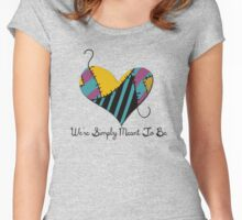 Sally's Heart Women's Fitted Scoop T-Shirt