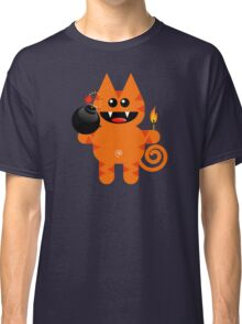 KAT 4 (Cute pet has a bomb and its alight!) Classic T-Shirt