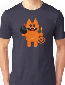 KAT 4 (Cute pet has a bomb and its alight!) Unisex T-Shirt