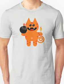 KAT 4 (Cute pet has a bomb and its alight!) T-Shirt