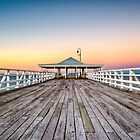 Jetty at Sunset by Paul Barralet
