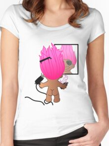 troll doll Women's Fitted Scoop T-Shirt