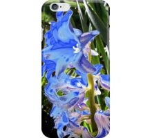 Acid Blue iPhone Case/Skin
