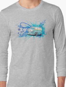 Splitty Script Long Sleeve T-Shirt