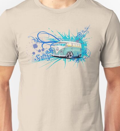 Splitty Script Unisex T-Shirt