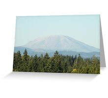 Mount St. Helen, Washington Greeting Card