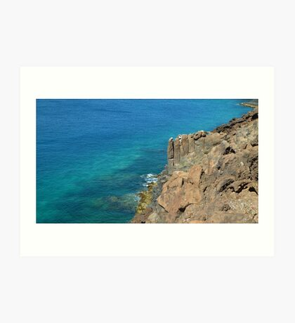 Gorgeous views. Art Print