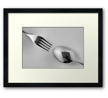 Kitchen Rhapsody: Pointed and Rounded Framed Print