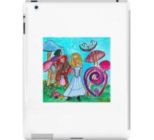 Alice in Movie Land iPad Case/Skin