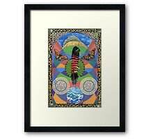 Rain Goddess Framed Print
