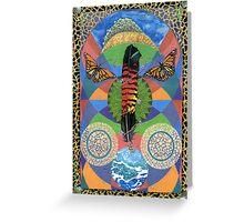 Rain Goddess Greeting Card
