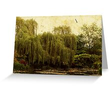 A Garden at Giverny Greeting Card