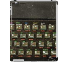 The ZX spectrum iPad Case/Skin