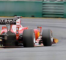 Ferrari F10 by Waqar