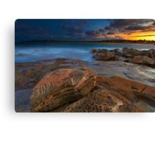 Sunset at Maroubra Canvas Print