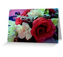 blooms and colors Greeting Card