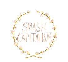 Smash Capitalism- Variation 2 Photographic Print