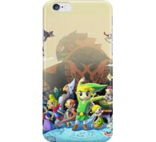 The Legend of Zelda: The Windwaker HD iPhone Case/Skin