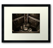 Weight Bearer Framed Print